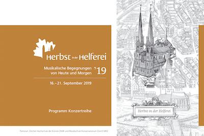 Herbst in der Helferei Programm 2019